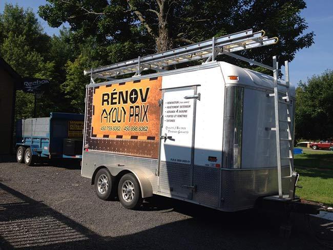 Camion Rénov à tout prix